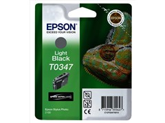 Epson T0347 UltraChrome Light Black Ink Cartridge