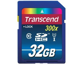 Transcend Premium 32GB UHS-1 (U1) SD Card