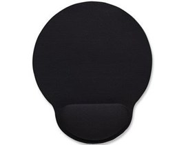 Manhattan Ergonomic Gel Mouse Pad with Wrist Rest (Black)