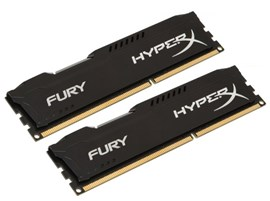HyperX FURY Black 16GB (2x 8GB) 1600MHz DDR3 RAM