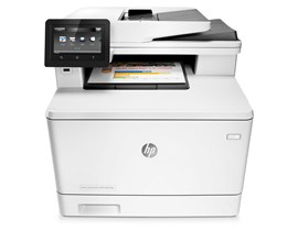 HP LaserJet Pro M477fdn (A4) Colour Network Ready Multifunction Laser Printer (Print/Copy/Scan/Fax) 256MB RAM/Flash 4.3 inch Colour LCD 27ppm (M/C) 50,000 (MDC)
