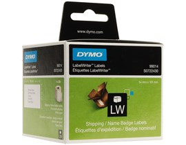 Dymo Shipping/Name Badge Labels (White)