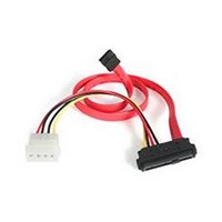 StarTech.com 18 inch SAS 29-Pin to SATA with LP4 Power Cable