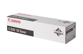 Canon C-EXV18 (Yield: 8,400 Pages) Black Toner Cartridge