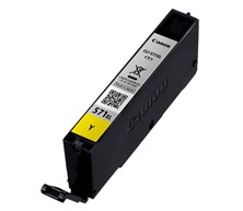 Canon CLI-571 XL Yellow (Yield 375 Pages) High Capacity Ink Cartridge
