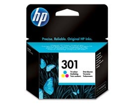 HP 301 (Yield: 165 Pages) Cyan/Magenta/Yellow Ink Cartridge
