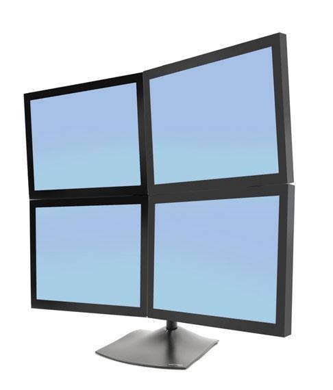 Ds100 Quad Monitor Desk Stand