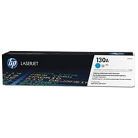 HP 130A (Yield: 1,000 Pages) Cyan Toner Cartridge
