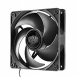 Cooler Master Silencio FP120 (120mm) 800-1400rpm PWM Case/Cooler Fan with Loop Dynamic Bearing 6.5-11 dBA