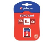 Verbatim 8GB SecureDigital SDHC Memory Card Class 4 *Open Box*