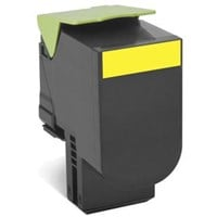 Lexmark Return Program 702HY (High Yield: 3000 Pages) Yellow Toner Cartridge