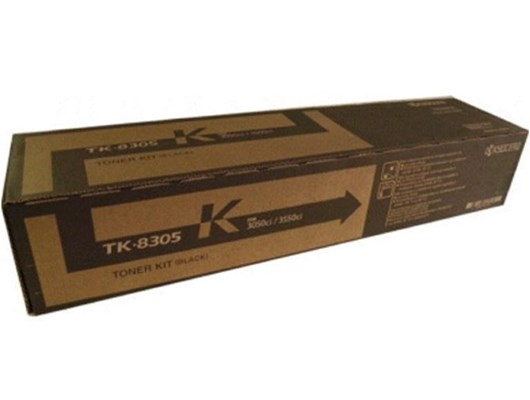 Kyocera TK-8505K Black Toner  for TASKalfa 4550ci/5550ci Multi Function Printer (Yield 30,000 Pages)