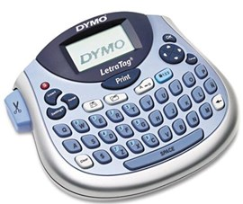 Dymo LetraTag LT-100T Label Maker with QWERTY Keyboard (Blue/Silver)