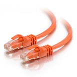 C2G 3m Cat6 550MHz Snagless Patch Cable (Orange)
