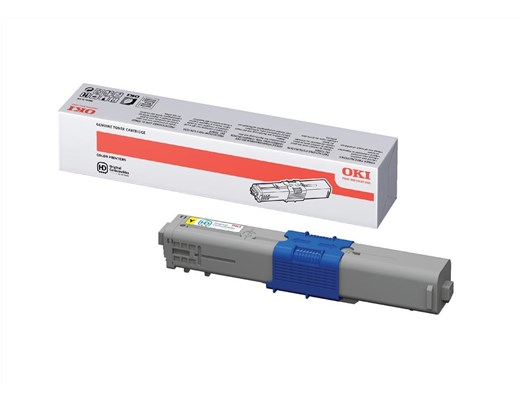 OKI 44469722 (Yield: 5,000 Pages) High Yield Yellow Toner Cartridge