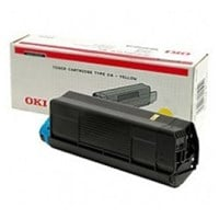 OKI Yellow Toner Cartridge (Yield 3,000 Pages) for C3100 Desktop Colour Printers
