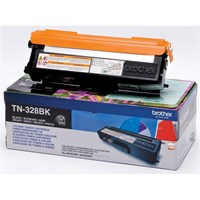Brother TN-325BK Black Toner Cartridge (Yield 4000 Pages)