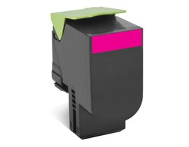 Lexmark 802XM (Extra High Yield: 4,000 Pages) Magenta Toner Cartridge