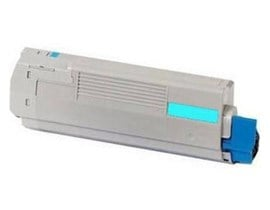 OKI Cyan Toner Cartridge (Yield 38,000 Pages) for C931 A3 Colour Printers