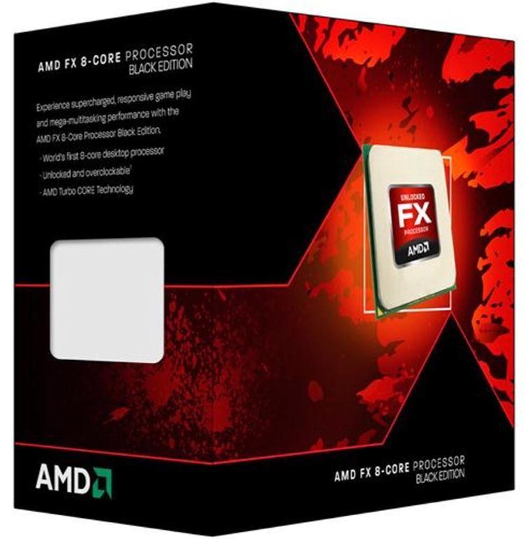 AMD FX 8350 40GHz Octa Core Socket AM3 CPU