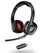 Plantronics GameCom 818 Wireless Stereo Headset with Microphone for PC, Mac and PlayStation 4