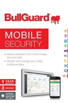 Bullguard Mobile Security (Mobile Tear Strip) V14.0 1Y/3U (Single Pack)