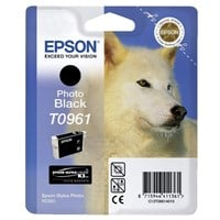 Epson Wolf T0961 (Yield: 495 Pages) Photo Black Ink Cartridge