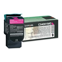 Lexmark Return Program (High Yield: 2,000 Pages) Magenta Toner Cartridge for C54x, X54x Colour Laser Printers