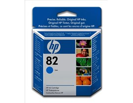 HP 82 (Volume: 28ml) Cyan Ink Cartridge
