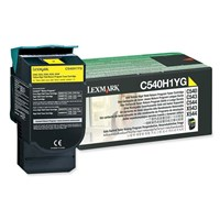 Lexmark Return Program (High Yield: 2,000 Pages) Yellow Toner Cartridge for C54x, X54x Colour Laser Printers