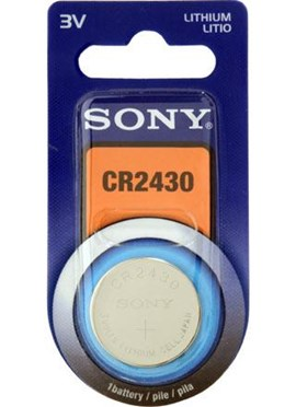 Sony Lithium Coin Battery 3V 280mAh - 1 Pack