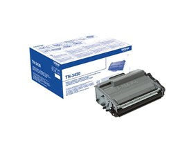 Brother TN-3430 (Yield: 3,000 Pages) Black Toner Cartridge