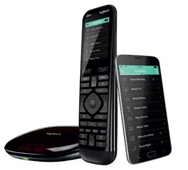 Logitech Harmony Elite Remote Control with Rechargeable Battery, Hub and App