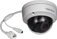 TRENDnet (5MP) IR Dome Network Camera H.265 WDR PoE Day/Night Indoor/Outdoor (Silver) V1.0R