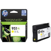 HP 951XL (Yield: 1,500 Pages) Yellow Ink Cartridge