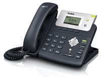 Yealink SIP-T21PN Entry Level IP Phone 2-Lines HD-Voice Power Over Ethernet (PoE) (Black)