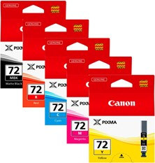 Canon PGI-72 (Multi Pack MB/C/M/Y/R) Ink Cartridge