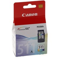 Canon CL-511 (Colour) Ink Cartridge (Blister Pack)