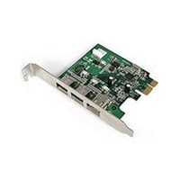 StarTech 3 Port PCI Express 1394 FireWire Adaptor Card FireWire Adaptor
