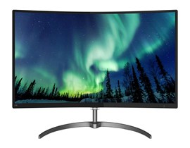 "Philips 278E8QJAB 27"" Full HD LED Curved Monitor"