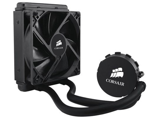 Corsair Hydro Series H55 Core High-Performance Quiet CPU Cooler
