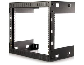 StarTech.com 8U Open Frame Wall Mount Equipment Rack - 12 inch Deep