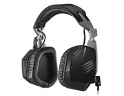 Mad Catz F.R.E.Q.3 Stereo Headset (Black) with Built-in Microphone for PC, Mac, and Smart Devices