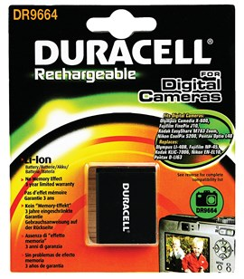 Duracell EN-EL10 Lithium-ion Rechargeable Camera Battery