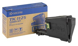 Kyocera TK-1125 (Yield: 2,100 Pages) Black Laser Toner Cartridge