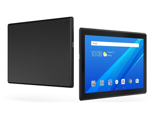 Lenovo Tab4 10 (10.1 inch Multi-Touch) Tablet PC Qualcomm (MSM8917) 1.4GHz 2GB 32GB eMMC WLAN BT Webcam Android 7.1 (Integrated Qualcomm Andero 308 Graphics) Black