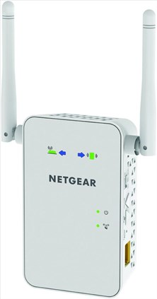 NETGEAR EX3700-100UKS AC750 Mbps Dual Band Universal Wi-Fi Range Extender with External Antennas (Wi-Fi Booster)