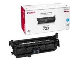 Canon 723 (Yield: 8,500 Pages) Cyan Toner Cartridge