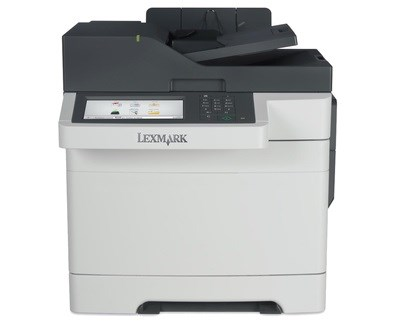 Lexmark CX517de (A4) Colour Laser Printer (Duplex Copy/Scan/Fax) 1GB 7 inch Touchscreen 30ppm (Mono/Colour) 85,000 (MDC)