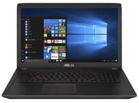 Asus FX753VD-GC086T (17.3 inch) Gaming Notebook Core i5 (7300HQ) 2.5GHz 8GB 1TB HDD+128GB SSD DVD WLAN Webcam Windows 10 Home (GeForce GTX 1050 4GB)